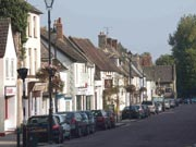 Cricklade High Street has varied shops, pubs and restaurants