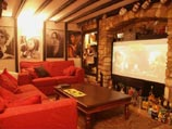 "The building has its own 84"" video screen room which is available free for one night of your stay in Cricklade"
